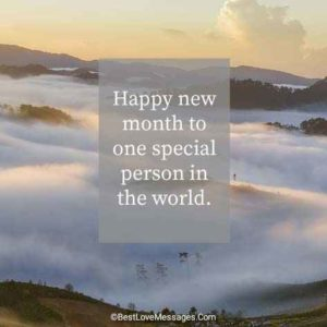 Happy New Month Messages for Friends and Family