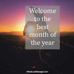 Best Month Of The Year - New Month Quotes