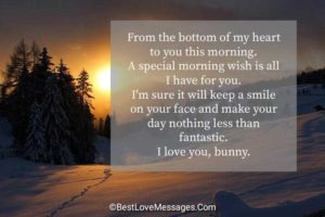 Cute Good Morning Messages for Her Image