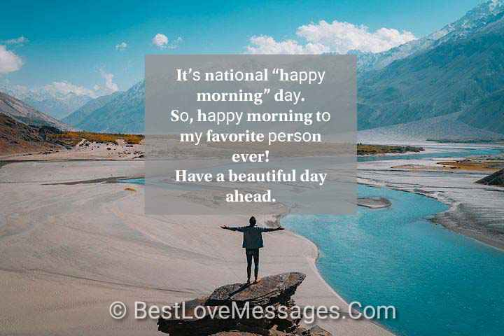 Good Morning Love Messages for Boyfriend