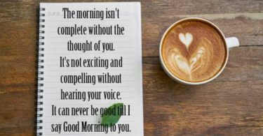 Good Morning Messages for Her Image