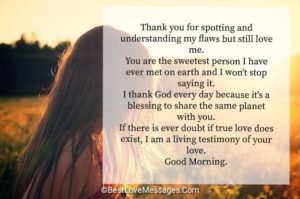 Sweet Good Morning Texts for Her Image