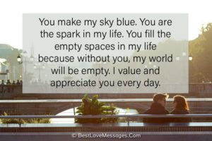 Romantic Deep Love Messages for Wife
