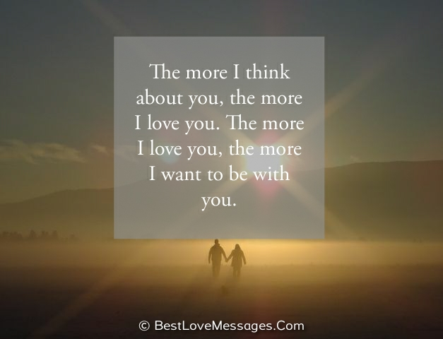 Thinking About You Messages for Him