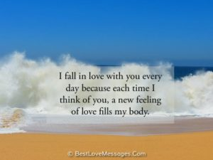 Cute Thinking of You Messages for Him