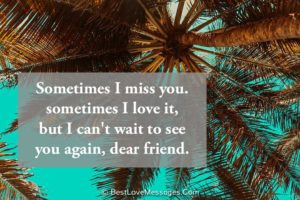 Thinking of You Quotes for a Friend