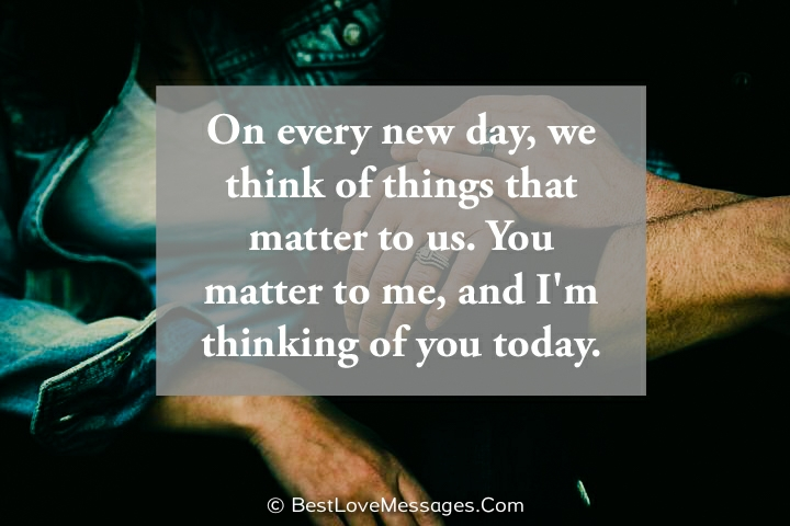 Thinking of You Quotes and Images