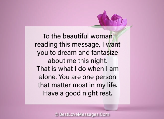 50 Good Night Text Messages for Her - Best Love Messages