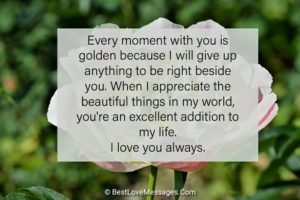 I Love You Text for Her Image