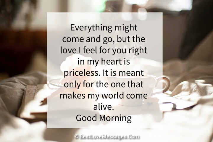 60 Good Morning Love of My Life Messages - Best Love Messages