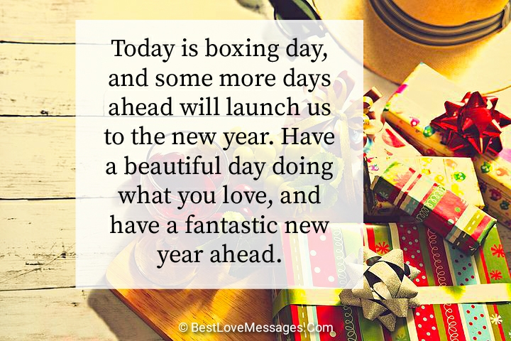 Happy Boxing Day Wishes