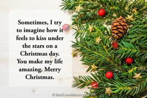 Christmas Love Messages to Boyfriend
