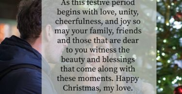 Cute Christmas Messages for Boyfriend Long Distance