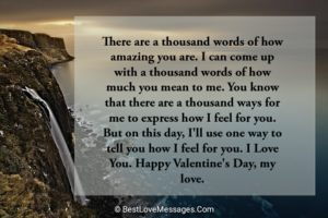 Valentine's Day Messages of Love
