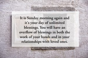 Happy Blessed Sunday Quotes for Loved Ones