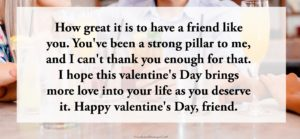 Best Valentine Messages for Friends