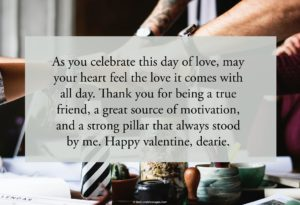 Lovely Valentine Messages for Friends