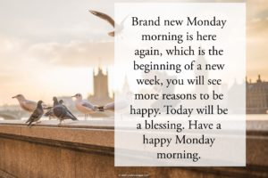 Monday Morning Blessings Quotes Images