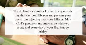 Friday Blessings Quotes and Prayers
