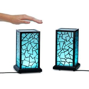 Long-distance touch lamps
