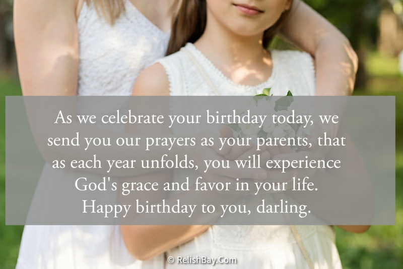 Beautiful Birthday Blessings for Daughter