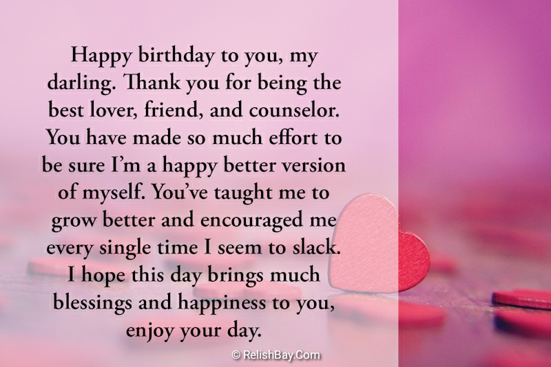 50 Long Birthday Messages For Boyfriend Relish Bay Here we're sharing happy birthday wishes for boyfriend, happy birthday images, love quotes, romantic wishes, birthday messages for boyfriend. 50 long birthday messages for boyfriend